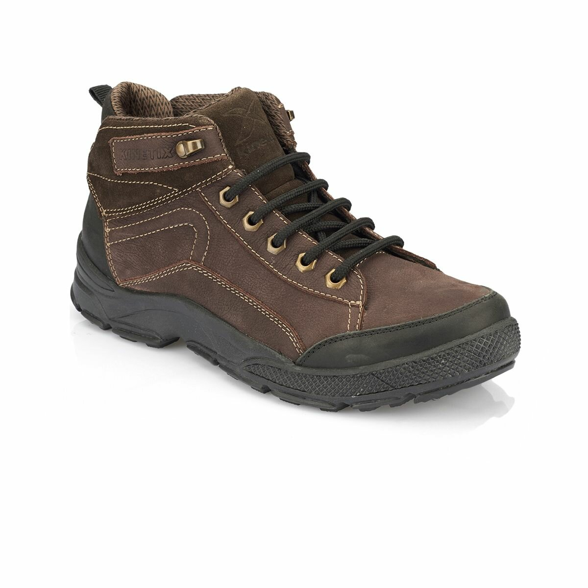FLO Mens Outdoor Shoes Casual Daily Use Boots Brown Color Comfortable Durable Shoes Мужские ботинки SADERO KINETIX