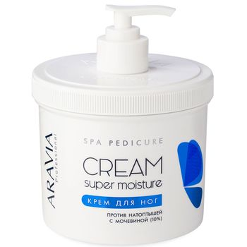 Foot Cream from натоптышей Super Moisture, 550 ml, aravia professional aravia от натоптышей