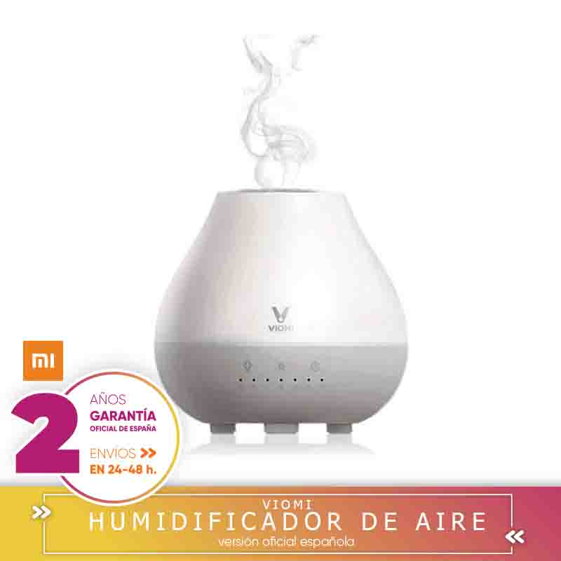 Xiaomi MiJia Viomi portable 200 ML ultrasonic air humidifier aromatherapy diffuser aroma 4 colors 2 in 1