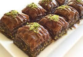 Güllüoğlu Purplemix baklawa z pistacją (z niewielką ilością cukru) legendarne smaki o wspaniałym smaku świeżo produ tanie i dobre opinie Mężczyzna DE (pochodzenie)