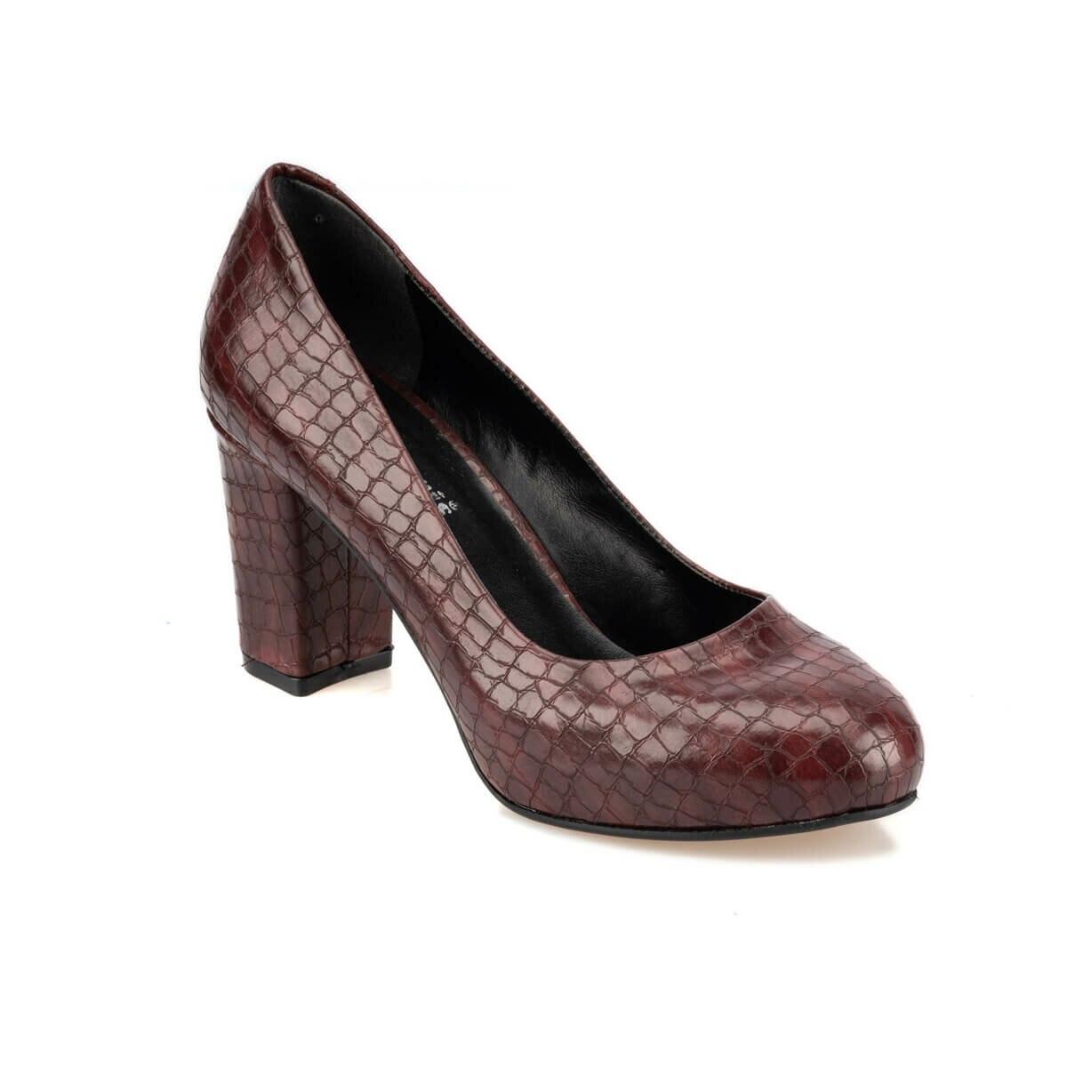 FLO 92.313153YZ Burgundy Women 'S Shoes Polaris