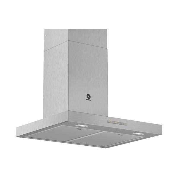 Conventional Hood Balay 3BC067EX 60 Cm 730 M³/h 255W A Stainless Steel