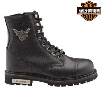 Original Harley Davidson Colmar Leather Men Boots 2021 new season men's genuine leather waterproof winter casual motorcycle boots