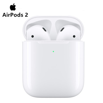 Original Apple AirPods 2nd Bluetooth Headset with Wireless Charging Case for iPhone iPad MacBook iPod Apple Watch