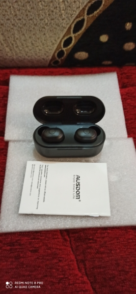 AUSDOM TW01 TWS Wireless Bluetooth Earphone 20H Play Time Wireless Headphone CVC8.0 Noise Cancelling Sport Earbuds With Dual Mic|Bluetooth Earphones & Headphones| |  - AliExpress