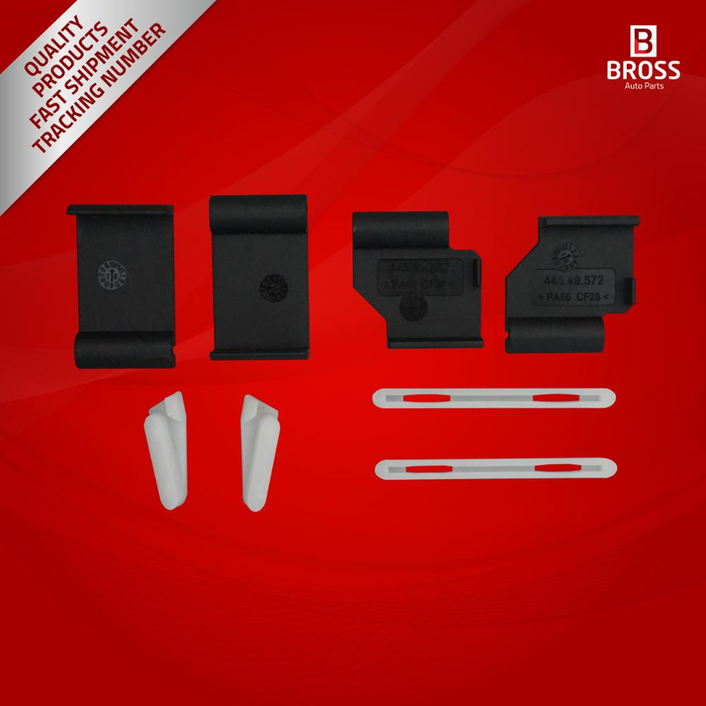 Bross BSR540 8 Pieces Sunroof Repair Kit for  X5 E53 and X3 E83 2000-2006