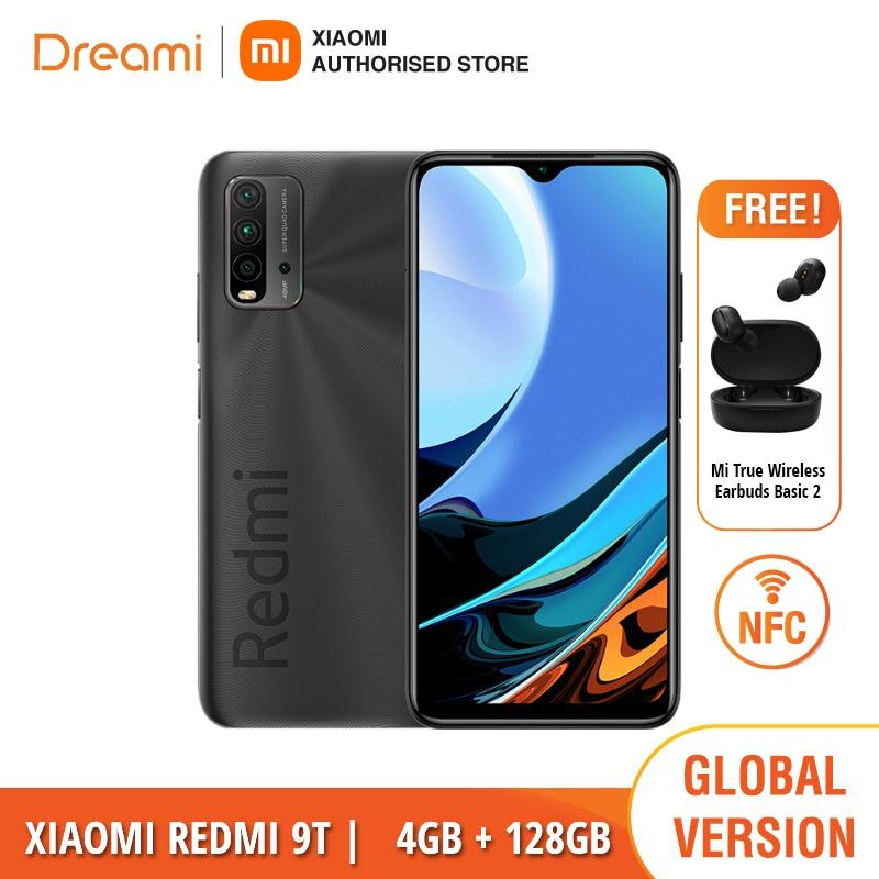 Глобальная версия Xiaomi Redmi-9T, 4 Гб оперативной памяти 128 ГБ ROM NFC (Фирменная Новинка/герметичные)
