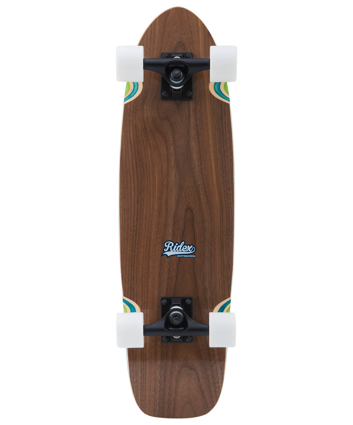 Skateboard Cruiser Wooden Ridex 28