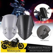 New Generation Windshield Windscreen For Yamaha MT07 FZ07 MT07 2018 2019 2020 Motorcycle Accessories Wind Deflectors MT FZ 07