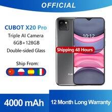 Cubot X20 Pro 6GB + 128GB AI Modus Triple kamera Smartphone 6.3
