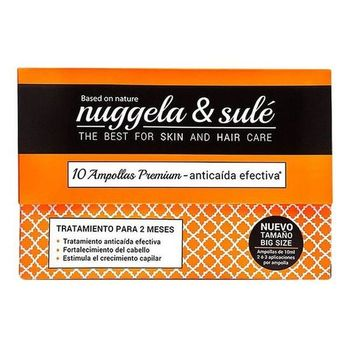 Anti-Hair Loss Ampoulles Nuggela & Sulé (10 uds)