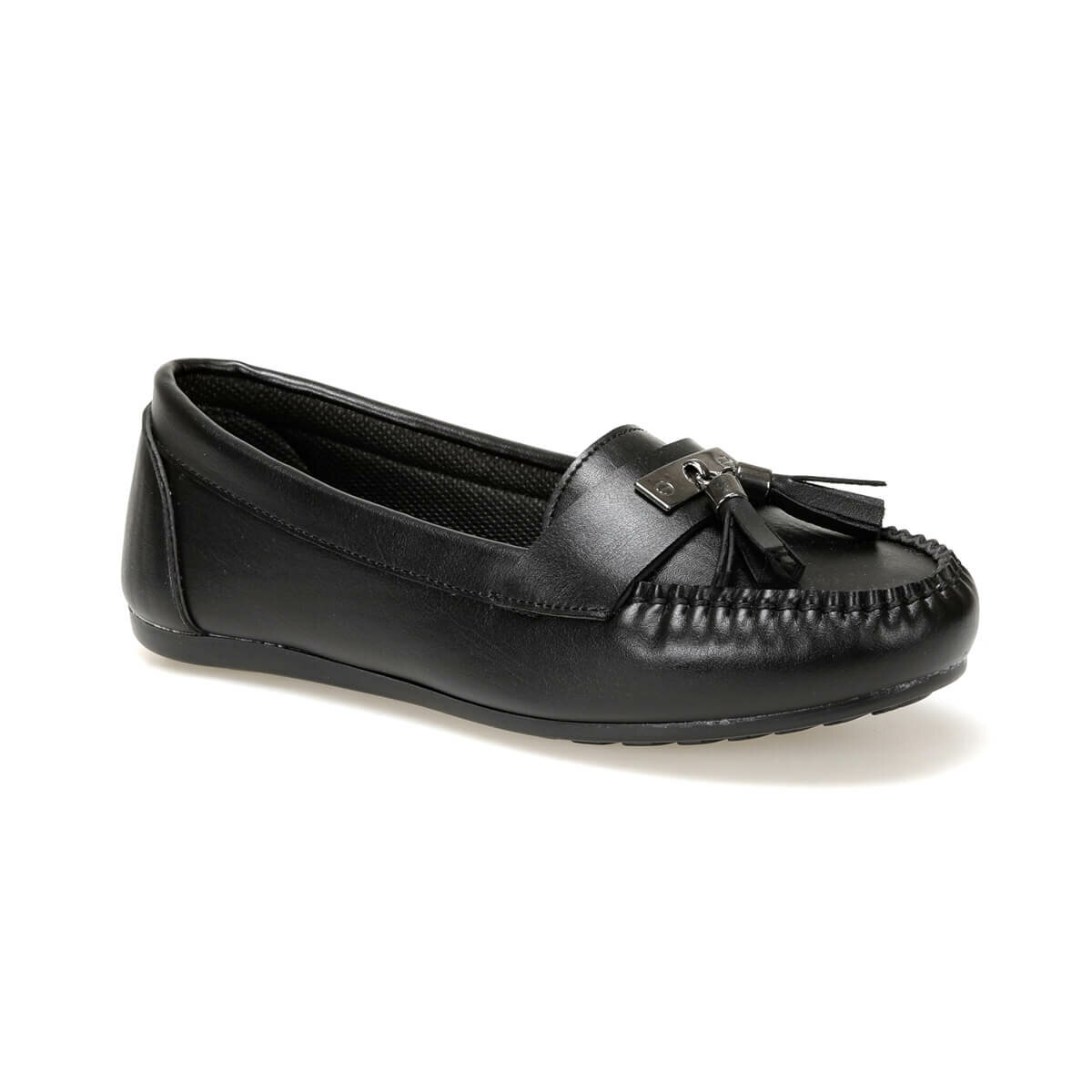 FLO DW19008 Black Women Loafer Shoes Miss F