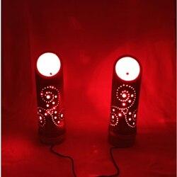 Бамбуковая лампа, Ночной светильник, прикроватная лампа, декоративная лампа, настольная деревянная лампа, ручная работа, светильник, Декор, ...