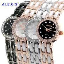Бренд alexis керамические часы с кристаллами браслет хороший