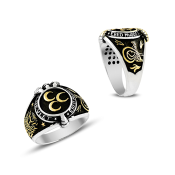 925 Silver Ottman Ring for Men Mans Ring