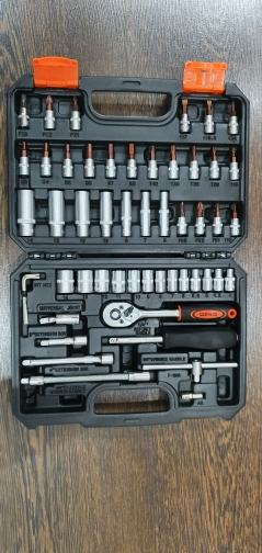Tool set Deko tz53 (53 PCs) tool case 1/4 professional wrench with heads set free shipping Hand Tool Sets    - AliExpress