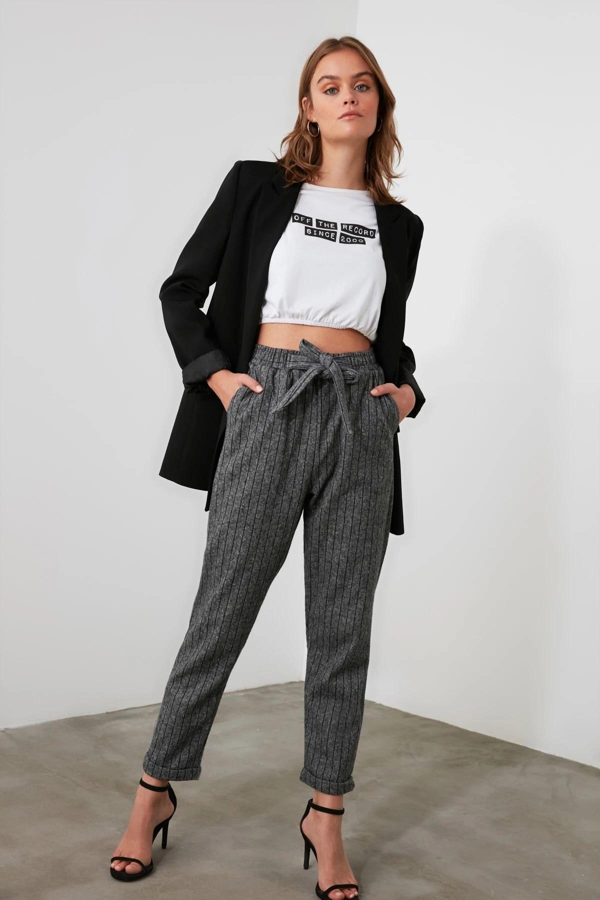 Трендовые трикотажные брюки TWOAW21PL0490