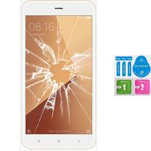 Screen Protector Tempered Glass Vidrio para for XIAOMI NOTE REDMI 5A PRIME (Generico, not Full «SEE INFO») CLEANING KIT