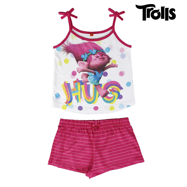 Trolls Summer Pyjamas For Girls