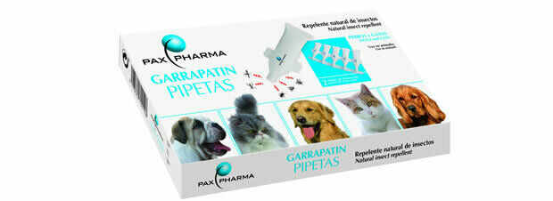 5 PIPETTES Park Dogs CATS ANTIPARASITARIAS PREVENT LEISHMANIASIS