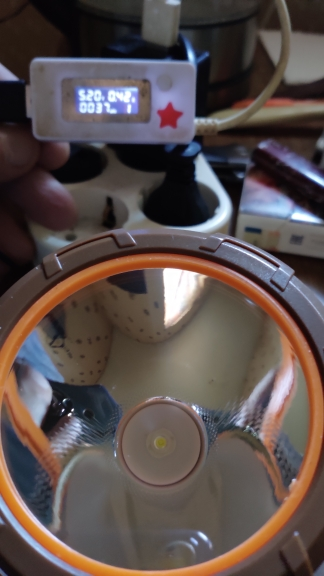Faróis de LED Acampamento Acampamento Bateria