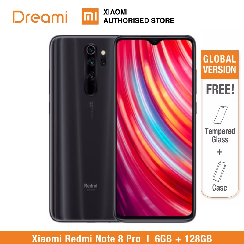 Global Version Xiaomi Redmi Note 8 PRO 128GB ROM 6GB RAM (Brand New And Sealed Box), Note8 Pro