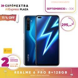 [Oficjalna hiszpańska wersja gwarancyjna] Realme 6 pro Smartphone 6.6