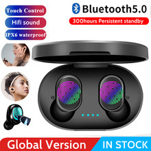 A6S Wireless Earphone For Airdots Earbuds Bluetooth 5.0 TWS Headsets Noise Cancelling Mic For iPhone Huawei Samsung Xiaomi Redmi(China)