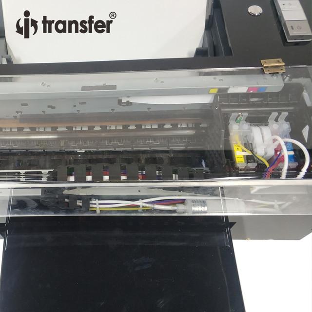 White Ink Circulation Stirring System DTF Printer PET Film Textiles Ink Hot Melt Powder Transfer Printing DTF A3 Printers Kit 5