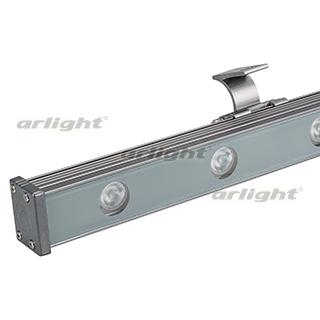 024329 LED Floodlight Ar-line-1000xs-12w-24v RGB (Grey, 30 Deg, DMX512) Arlight 1-PCs