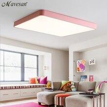 HA CONDOTTO LA Luce di Soffitto Moderna Lampada a soffitto Apparecchio di Illuminazione Soggiorno camera Da Letto Cucina Superficie di Montaggio A Filo di Controllo A Distanza