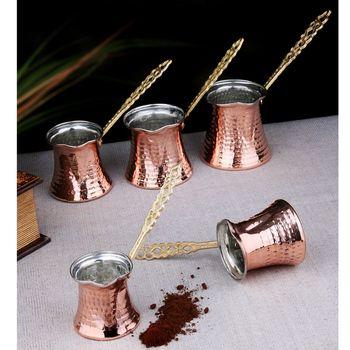 Hand Hammered Ibrik Turkish Coffee Pot 1