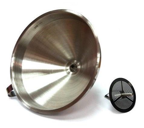 Funnel Filter Stainless Steel 304, Reliable Funnel For PET Beverage