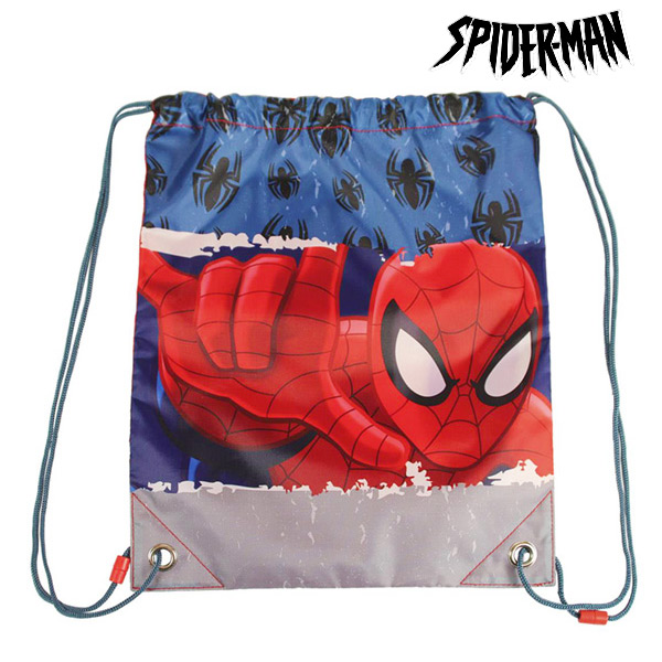 Spiderman Drawstring Backpack (31 X 38 Cm)