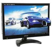 Auto TV Eplutus EP-143T DVB-T/DVB-T2 TFT LED HD TV Unterstützung TF karte USB
