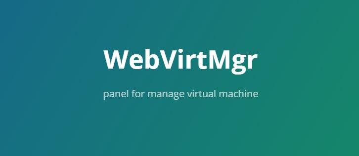 CentOS 7 安装KVM虚拟化部署WebVirtMgr管理面板