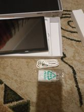 Took for a gift, birthday gift satisfied. the tablet was charged for 93%. delivery 4 days.