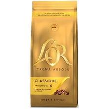 Кофе зерновой L'OR CREMA ABSOLU CLASSIQUE 230 г