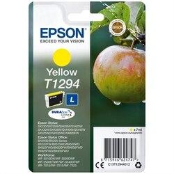 Oryginalny wkład atramentowy Epson T1294 7 ml żółty