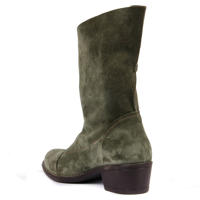 Sail Lakers-Genuine Leather Women's Vintage Boots