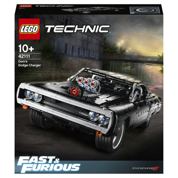 Конструктор LEGO Technic Dodge Charger Доминика Торетто 2