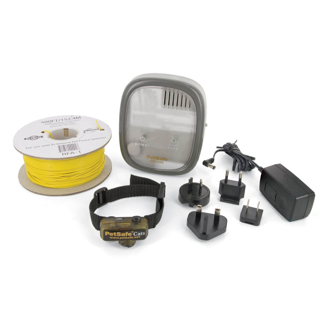 Invisible Fence Kit Shepherd Electric Radio-Fence PetSafe PCF-1000-20 Dog And Cats From More Than 2.6Kg, No Fences
