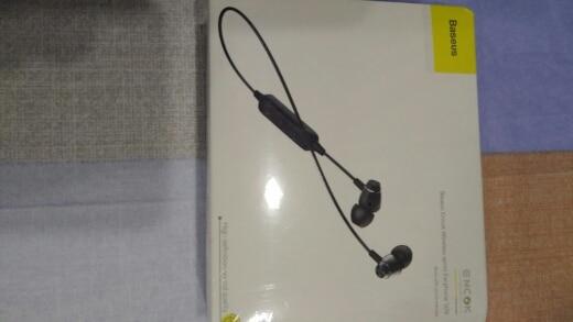 Baseus S09 Bluetooth Earphone Wireless IPX5 Waterproof Earphones Neckband Fone de ouvido Sports Headset Stereo Earbuds Earpieces Phone Earphones & Headphones     - AliExpress