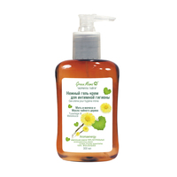 Green Mama gentle gel cream for intimate hygiene coltsfoot and tea tree oil 300 ml
