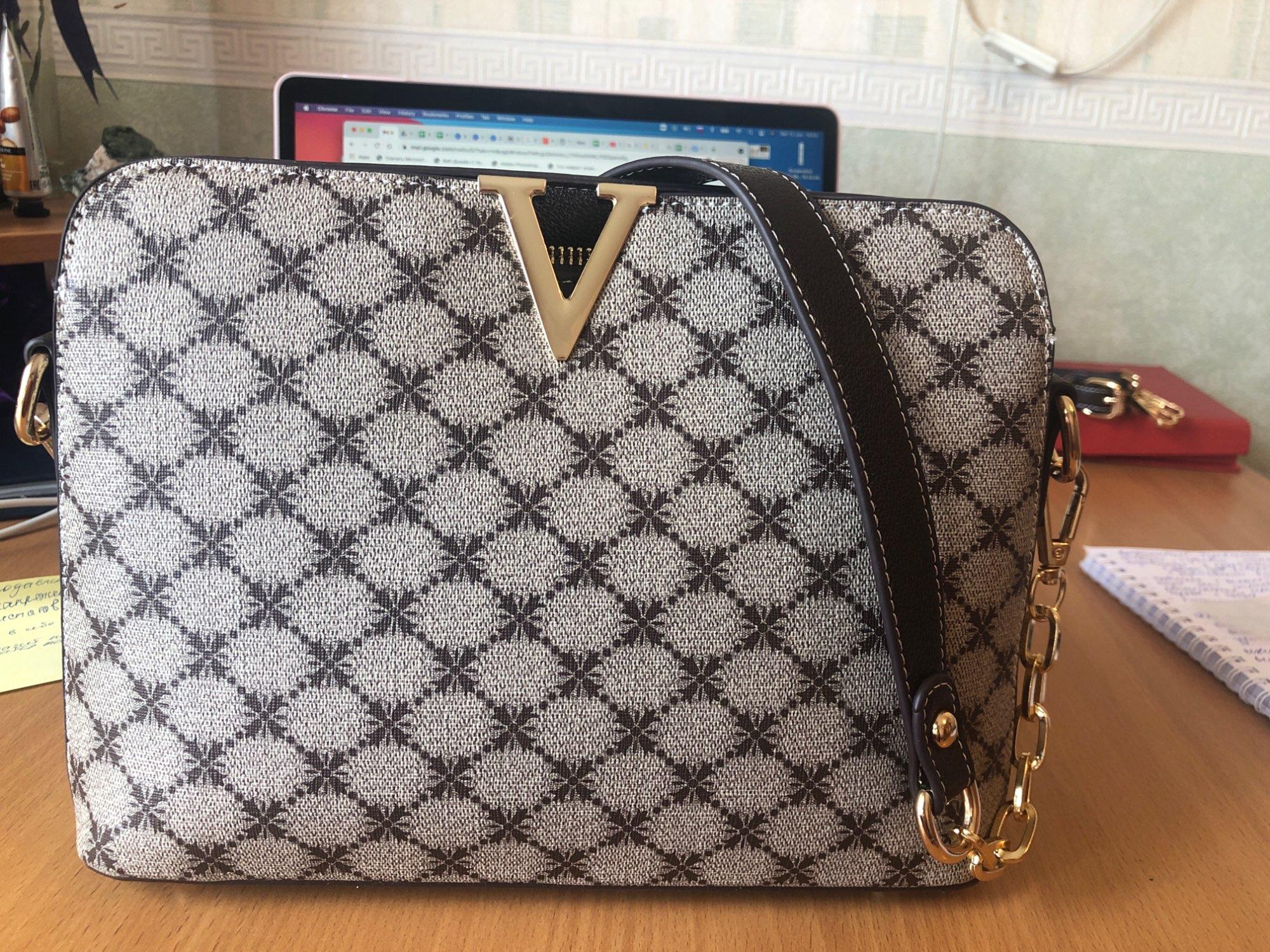 Deluxe Crossbody Shoulder Bag