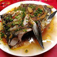 """#美食说出""""新年好""""#在***做,比店里的好吃~剁椒鱼头的做法图解5"""
