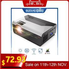 Проектор для домашнего кинотеатра buianuwod g08 480p/720p светодиодный