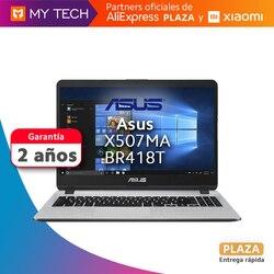 Ноутбук ASUS, ноутбук X507MA-BR418T, оригинал, гарантия 2 года, площадь Испании, W10 Home, intel Celeron N4000
