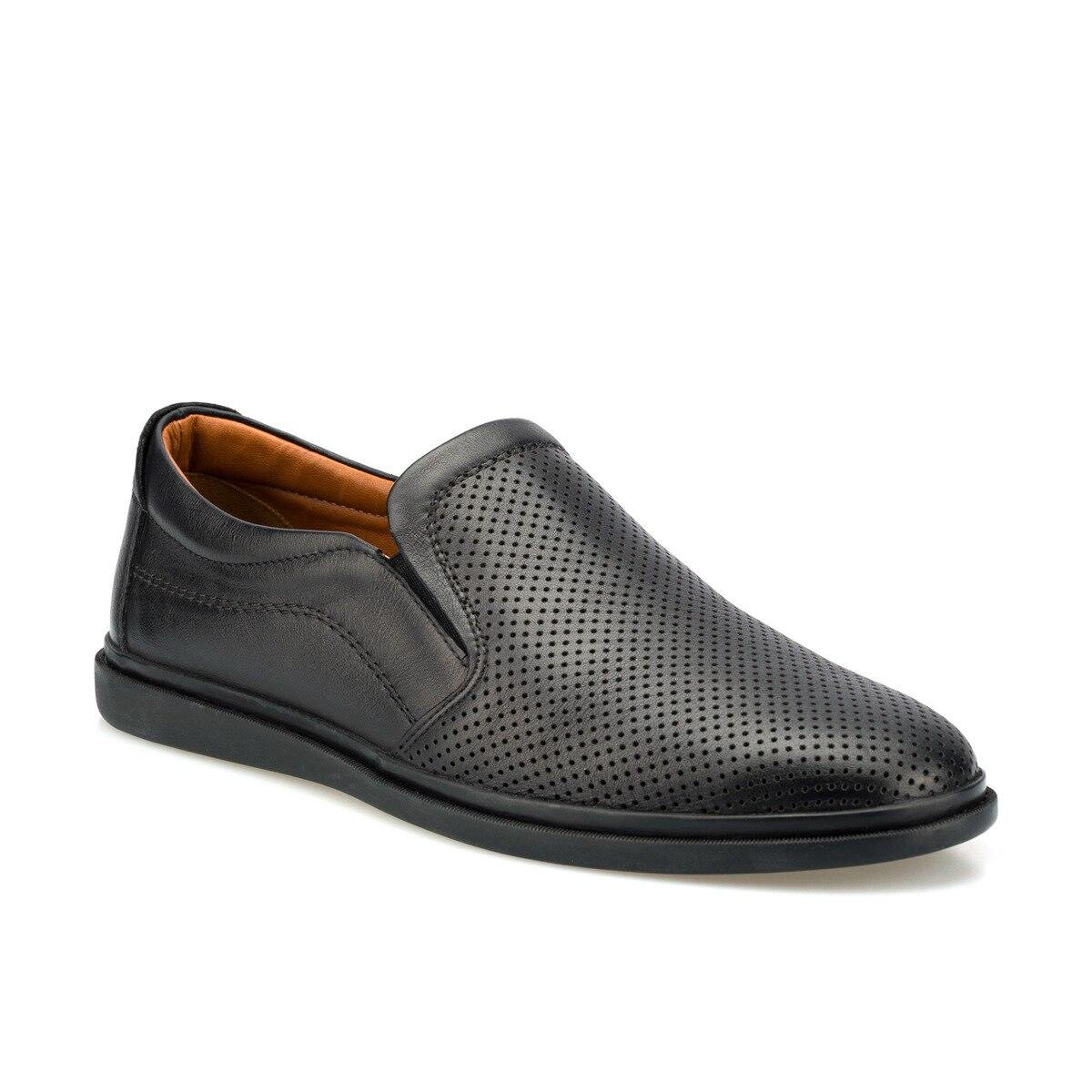 FLO 102081.M Black Men 'S Classic Shoes Polaris 5 Point