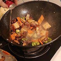 #百变鲜锋料理#火腩豆腐煲的做法图解7